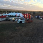 Sunrise this morn over the @momentum947 #CC2014 http://t.co/tlwaADLZIu
