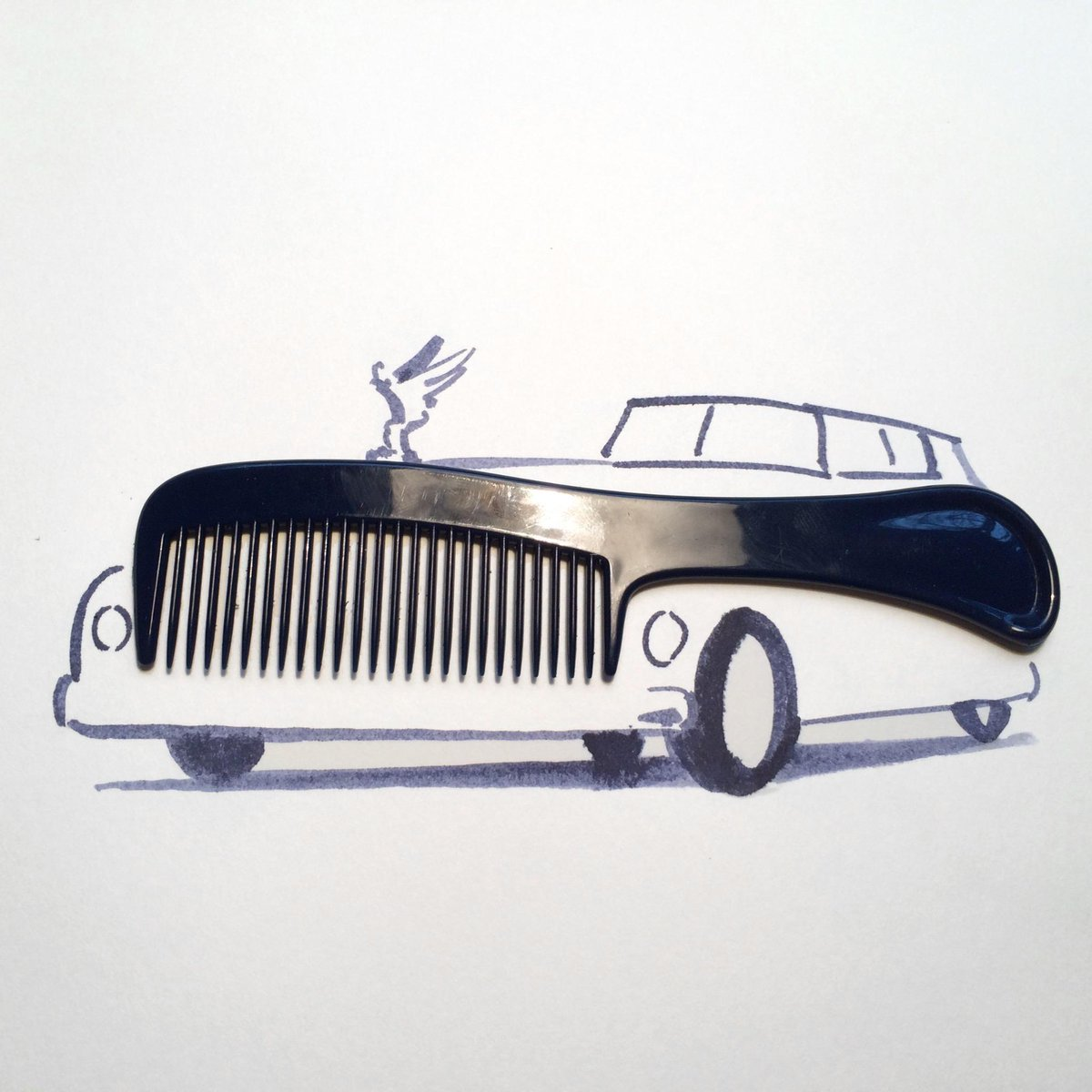 Sunday sketching double header part 1: #car http://t.co/kt76Tdg1Jb http://t.co/W02G3LLGTV