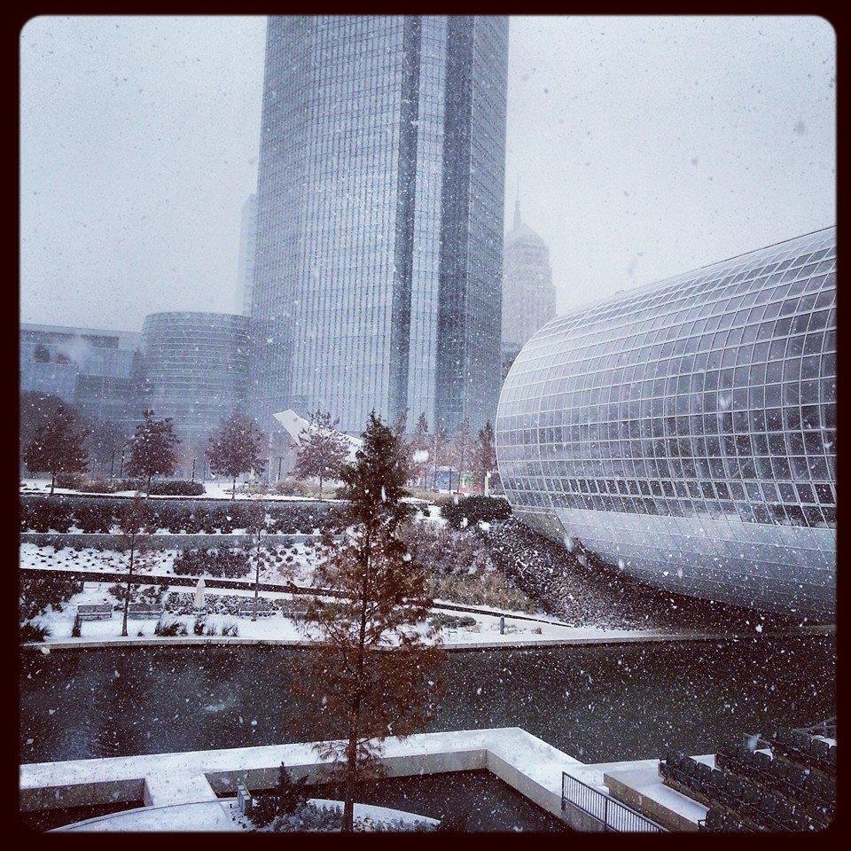 Since we've no place to go ... Let it snow let it snow let it snow! #okwx http://t.co/p5Z1KYhAHA