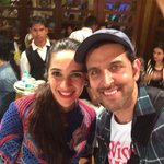 @iHrithik thanx for being so sweet about my show at Aaradhya's bday Look forward to u bein a guest Dad.. @TheTeamTSS