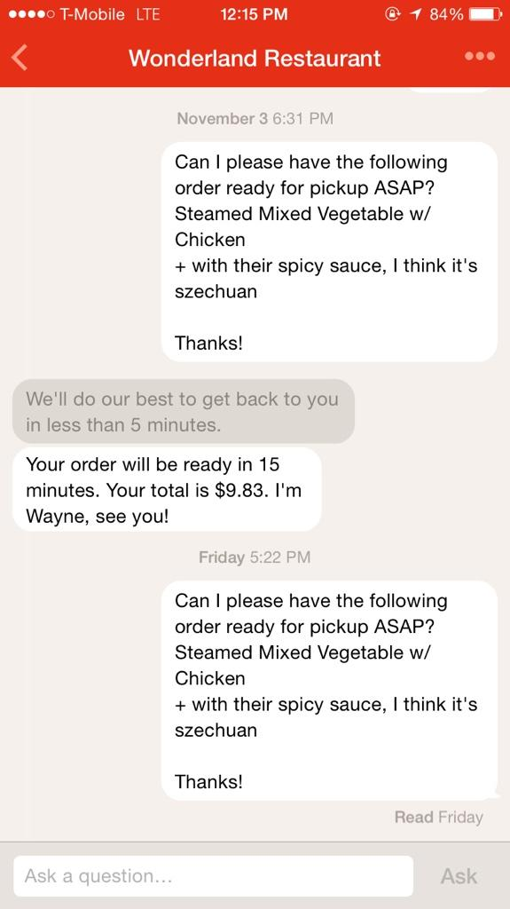 @path Talk is how I order from my neighborhood Chinese restaurant. Copy last order, paste and enjoy dinner. http://t.co/xqbrrRZQKF
