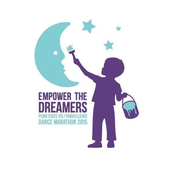 And the logo for THON 2015, Empower The Dreamers, is... http://t.co/2q3yndsU7i