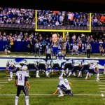 I don't know if the @Colts mascot is behind this but I think it's hilarious. Sad truth - it's actual size. http://t.co/glGXrfgruo #BigHead