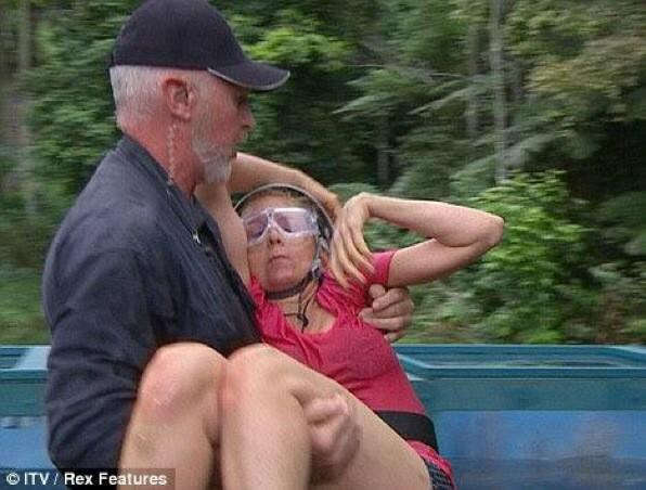 Poor Bob's gonna be f**ked if this happens to Gemma. #ImACeIebrity http://t.co/kkUeu7xknZ