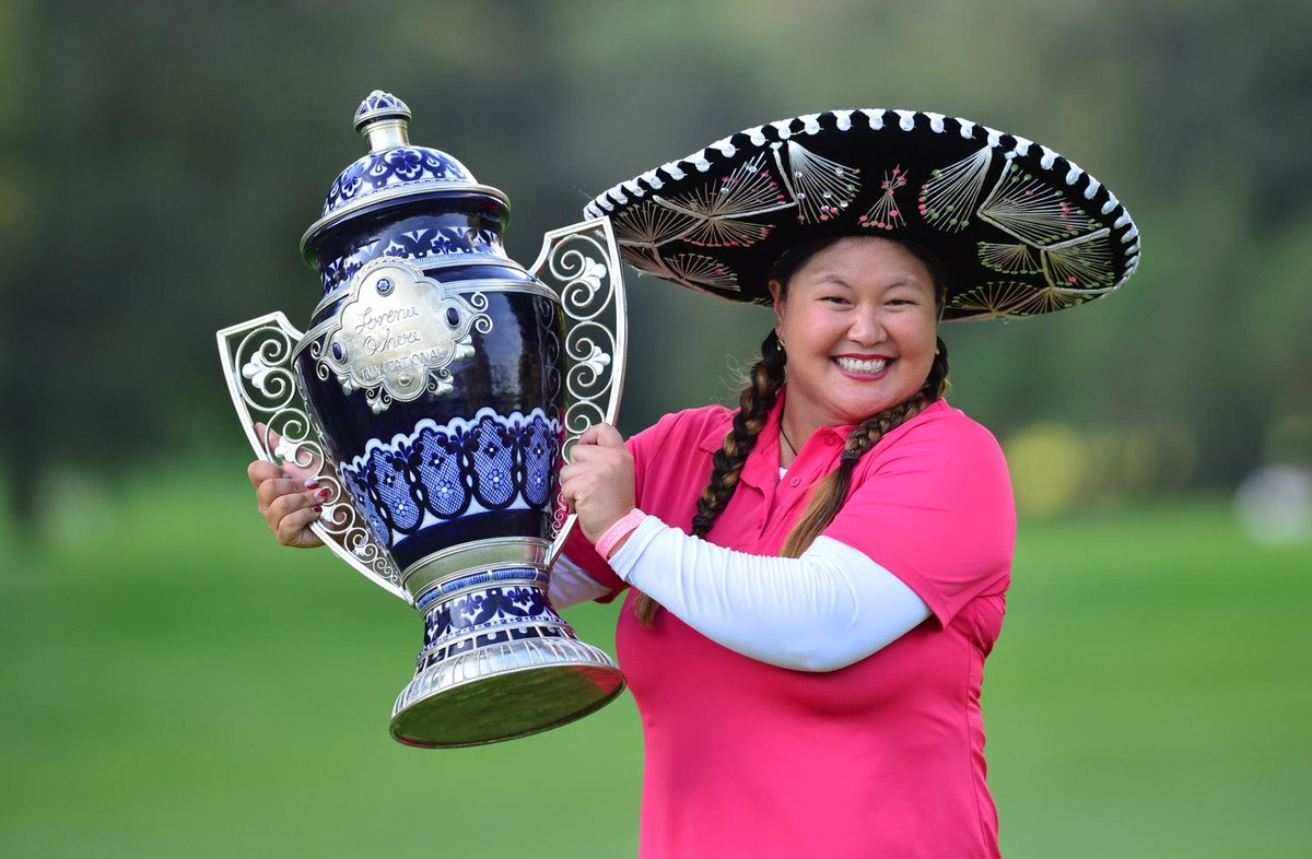 """@LPGA: In the Winner's Circle with @TheChristinaKim @LOIMX http://t.co/PIKhx600tR http://t.co/WFHuH9ya81"" This photo is the best. The BEST!"