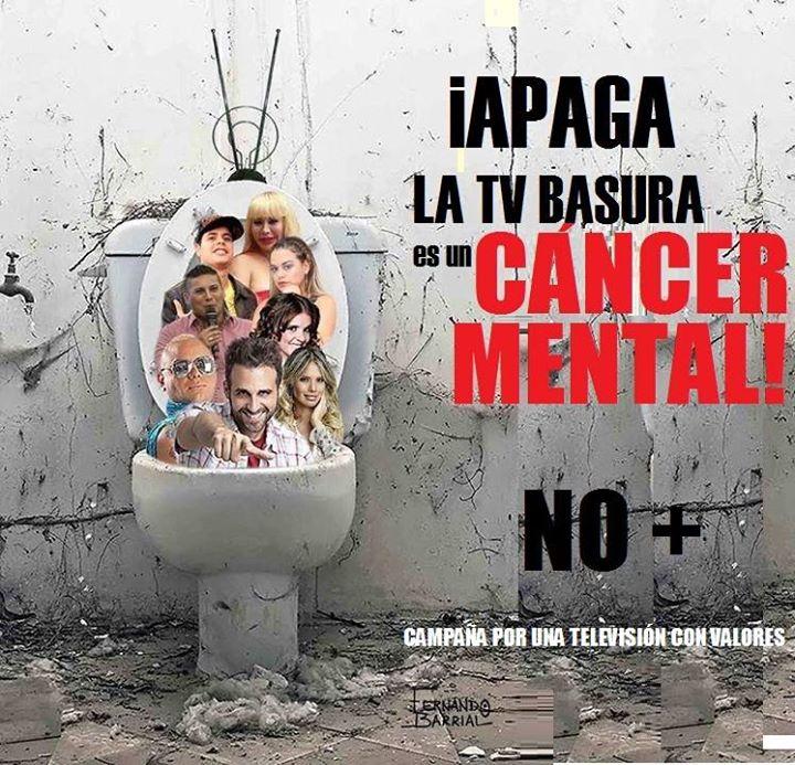 Apaga la TV BAsura !!! http://t.co/u7H4wcENbX