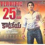 RT @FilmyTelugu: Karthikeya film completed 25 Days: #Nikhil #SwathiReddy #25Days #Karthikeyafilm Nikhil and… http://t.co/FTcDltUo56