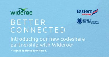 For more information on our new codeshare partnership with Wideroe click here -