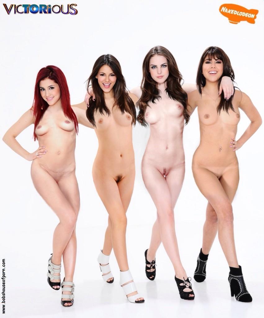 Infinitely Ariana grande victoria justice naked