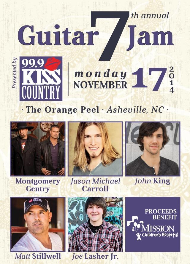 Tonight! Asheville, NC! @ThePeel! @99kisscountry! Hope to see you there! http://t.co/THo50WFiWX