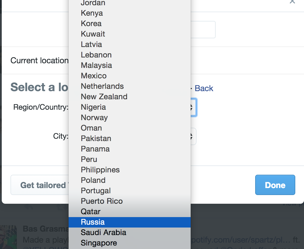 really @twitter ? I can't see trends for Romania because you haven't added our country to your dropdown? http://t.co/LRoxpaEXi2