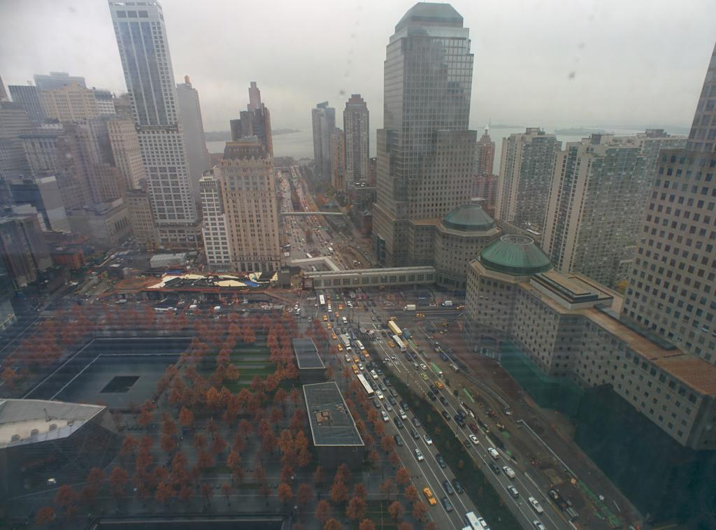 This is the view from my 33rd-floor desk at #OneWTC. http://t.co/7VoNfjp2md