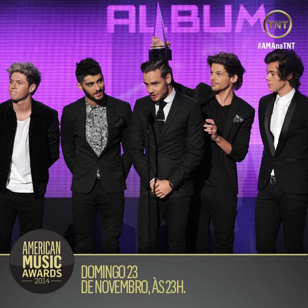 Vários artistas estrangeiros já receberam prêmios no #AMAnaTNT! E neste ano eles tem chance? http://t.co/SX6lzlNVzz