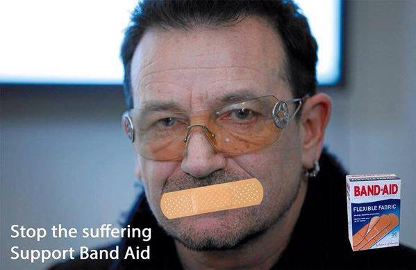 Stop the suffering.  Support Band Aid. http://t.co/hhk2ioJQY0