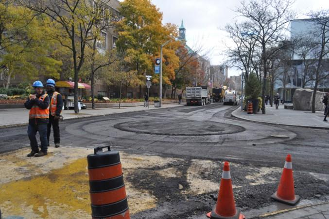 Don't worry. Ryerson will not be footing the bill for the Gould Street repaving job http://t.co/T4tWFICxbf http://t.co/FQCj5WZ75H