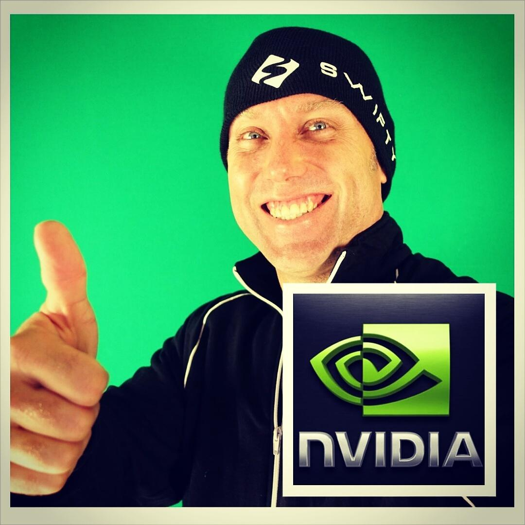 Swifty (@SwiftyiRL): Now #sponsored by @nvidia! Will be streaming live on their page at 9pm est!  http://t.co/bsztFL2FGj #teamnvidia #ad http://t.co/9PKxrwBuvv