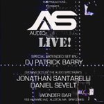 #Boston Friday 12/5 #TheAudioSpectrumLIVE 3hr set w/@djpatrickbarry @JonathanSantarelli @DanielSevelt #TASLIVE #MJSP http://t.co/rJ65KKVStM