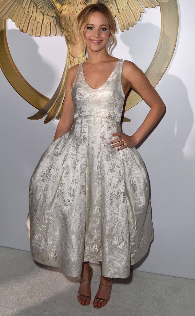 One word for Jennifer Lawrence at The Hunger Games: Mockingjay--Part 1 premiere: PERFECT!
