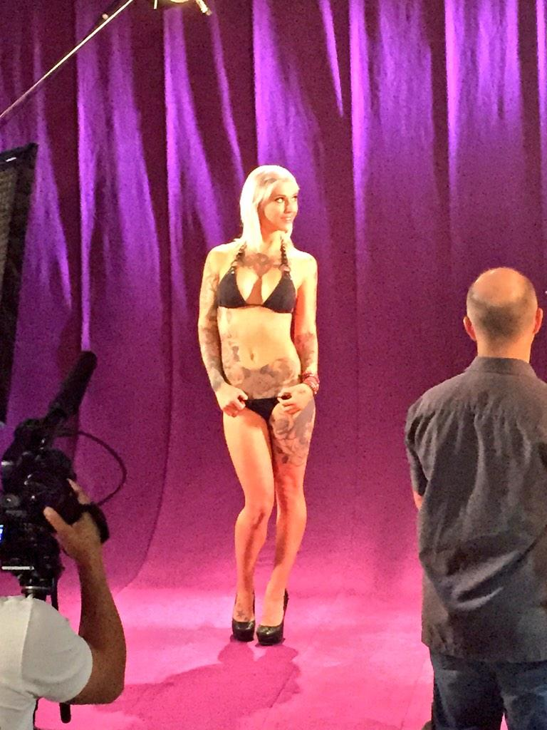 """? ya sweetie """" during today's filming of Digital Playground's DP STAR! #DPSTAR"""