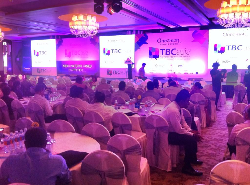 Conference day at #tbcasia kicks off soon. links to the live stream coming soon. Room is already buzzing! http://t.co/qoPK8za4Cy