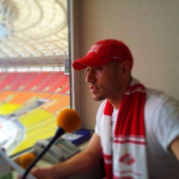 Макс Орлов: Хочу быть голосом «Спартака», а не диктором