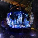 光の海が入れられた巨大スノウドーム『スノウアクアリウム』大阪・あべのキューズモールに出現 http://t.co/9U7LJ9WaLy http://t.co/aE4UKybY5a