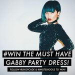 RT & FOLLOW @Shopcade & @MotelRocks for a chance to win the bloggers fave Motel party dress - Gabby! #competition http://t.co/dgMedwnboA