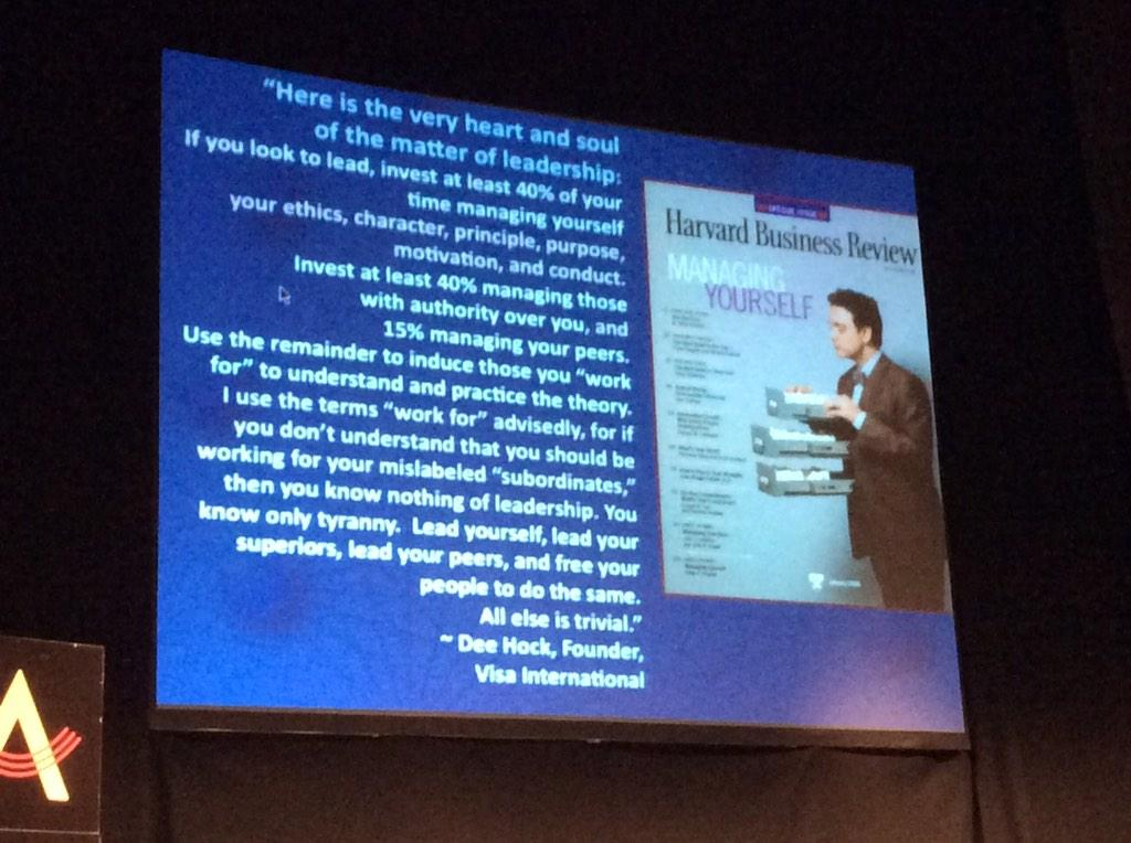 Leadership defined. Nuff said #MeaningConf http://t.co/aLq54vUsaI