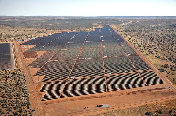Africa's biggest solar facility just came online. It's huge, folks! http://t.co/maQ0V4tYBX http://t.co/bR0XJGMY8s