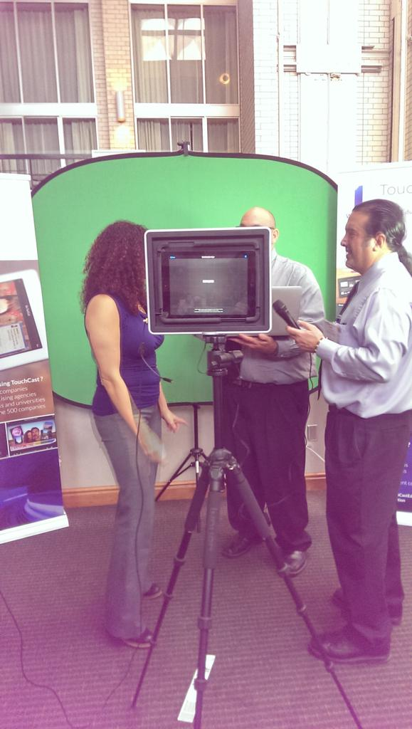 RT @ThePadcaster: @TouchCast rockin' an interview with @ThePadcaster #TRETC2014 http://t.co/hie2G05nBB