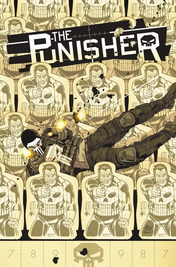 Got to draw 70's style Frank Castle on the cover of Punisher #15 in the Feb. @Marvel Solicitations. Thx @MitchGerads! http://t.co/7FFVC5xbLB