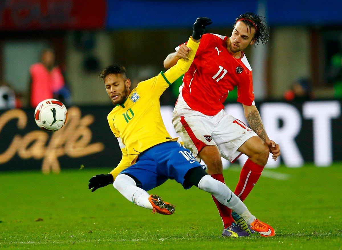 Brasil x Austria