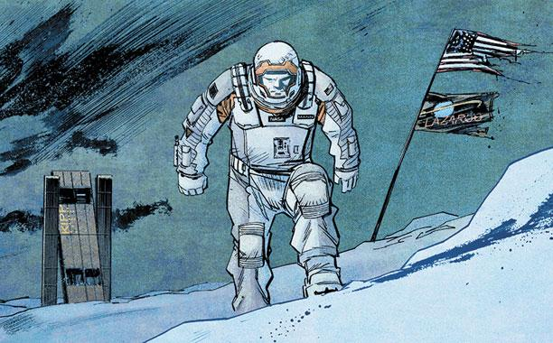 Christopher Nolan wrote a comic about that big Interstellar spoiler:
