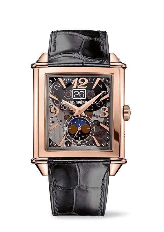 The new Vintage 1945 large date and sapphire dial clad in pink gold. #watches #timepieces #horlogerie #reloj http://t.co/ClNIstaXSd