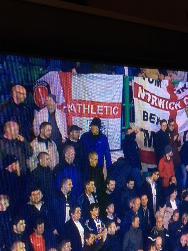 #Cafc flag spotted at Celtic Park #Eng http://t.co/NwkCZ7JpnJ