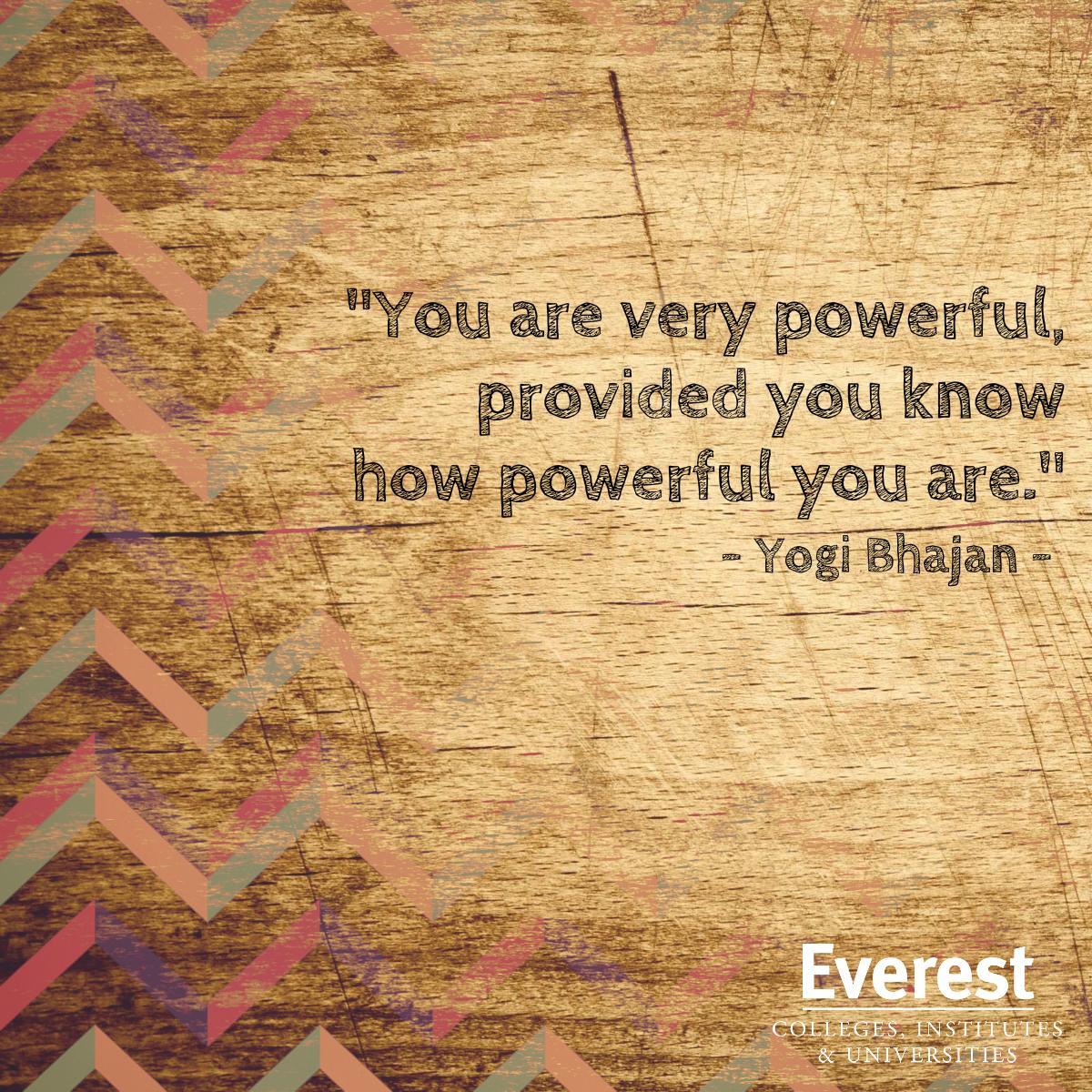 Tap into your inner power. http://t.co/ATgwh0HeFZ