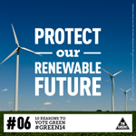Help us Protect the #RET! Vote Green on 29 Nov. http://t.co/6KQM6rJkNg #Green14 #10ReasonsToVoteGreen #vicvotes http://t.co/J03drJUGfp