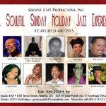 #2MORO @GrooveCafeATL #SoulSundayJazz #SpecialGuest @IBVMusic  #630Studio 630 Travis Street   #ATL   4p  $20 http://t.co/HOX9FkYKYN