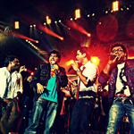 RT @Haricharan_Sesh: Performing for Yuvan live @raja_yuvan @Premgiamaren is always crazy fun