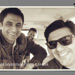 With #MyBirthdaySong crew , director Samir Soni and DOP @shubhamkasera on a recce.