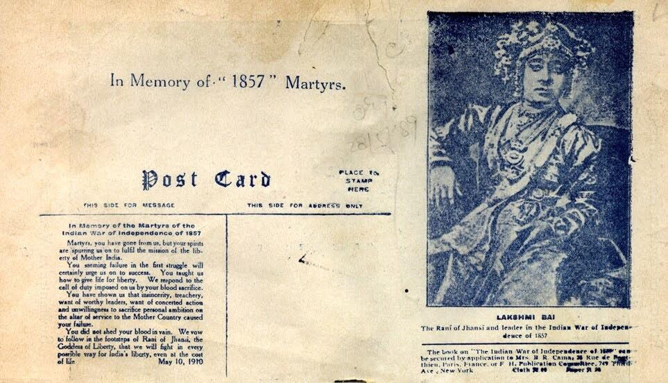 Today is 186th birth anniv of #JhansiKiRani Lakshmi Bai.  Her original name was Manikarnika http://t.co/6sJ0xeHNzz