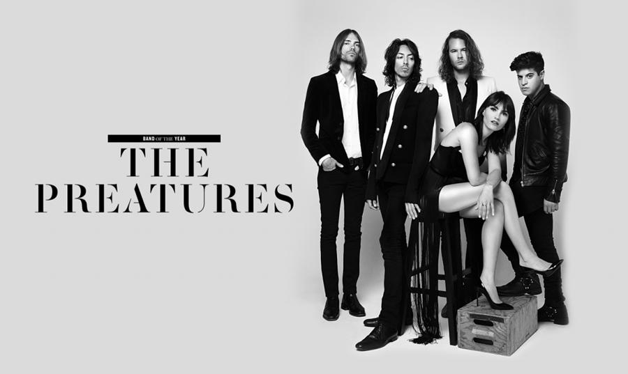 Well done Preats!! RT @GQAustralia: GQ's 2014 Band of the Year we give you... @ThePreatures http://t.co/Q0fif6ImZ8