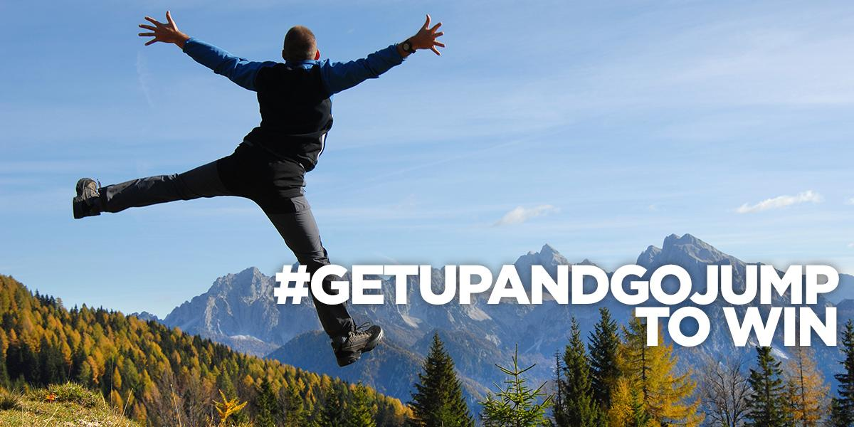 Tweet your star jump picture to #GetUpandGoJump to win an iPad & more! Ts & Cs: http://t.co/XJ66eErl7O http://t.co/AhdNzpr2l9