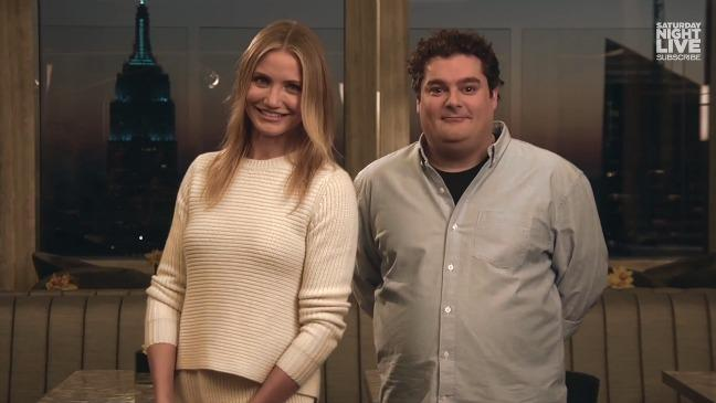 Cameron Diaz Reveals Her Surprising Dating History in SNL Promos