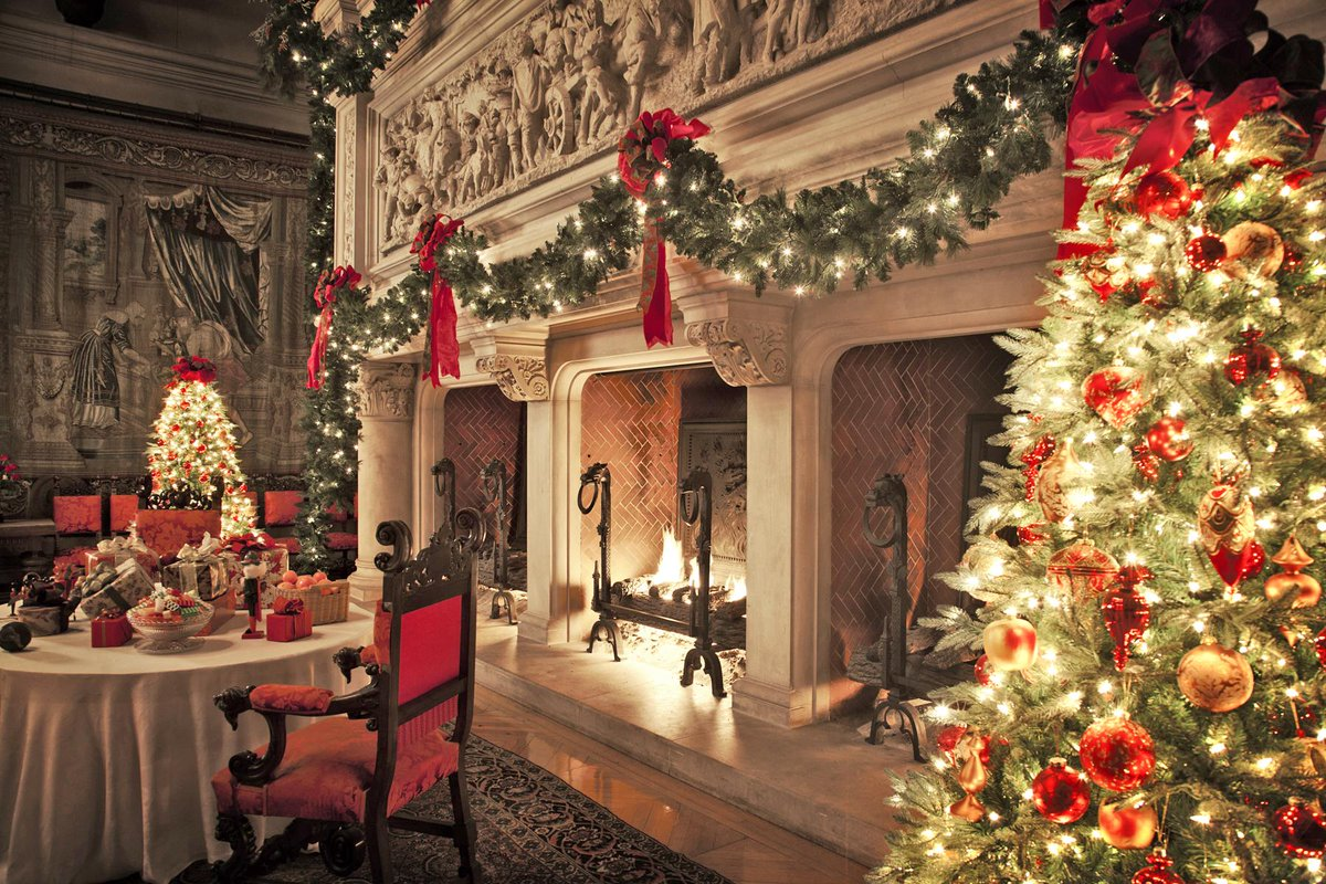 Retweet if you wouldn't mind enjoying a cup of hot cocoa while sitting next to #Biltmore's Banquet Hall #fireplace. http://t.co/G4g8LAL21N