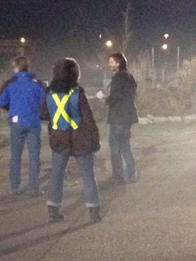#SUPERNATURAL EPISODE 10.13 SET PICS FROM 12/02/14 THANKS TO THE AMAZING @HUSHRULES!!! SQUEEEEEE!!! http://t.co/6gd0Yof9BF