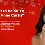RT @LifetimeAsia: Want to be on TV with @annecurtissmith? Spot codes on Lifetime & submit to http://t.co/6PgaskSL4X #LifetimeWithAnne http:…