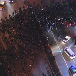 RT @CBSEveningNews: Protesters shut down part of the West Side Highway in NYC, photo via @CBSNewYork's chopper: http://t.co/dLuDPTcrH8 http…