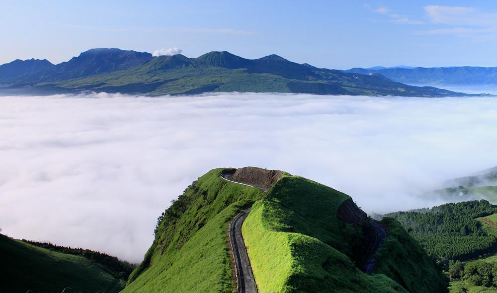 日本の絶景 ラピュタの道 熊本県 Japanese Superb view laputanomichi kumamoto