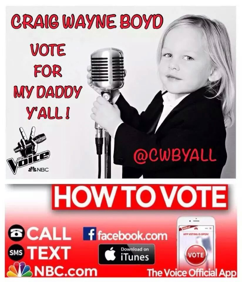 Awesome as always @CWBYall!!! #TakeItEasy #TeamCWB #TeamBlake #FringeNation #CountryMusic @NBCTheVoice @blakeshelton http://t.co/eW9aNAYJdC